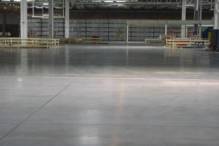 Monolitické betónové podlahy