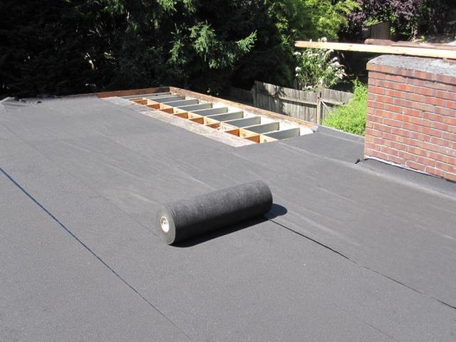 Zgrajena streha za nakup